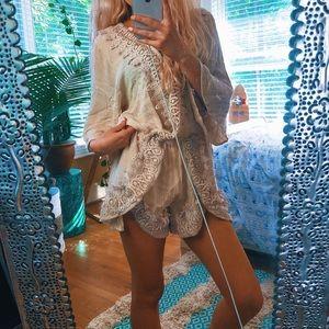 Pants - Hippy Crochet Romper 🌿